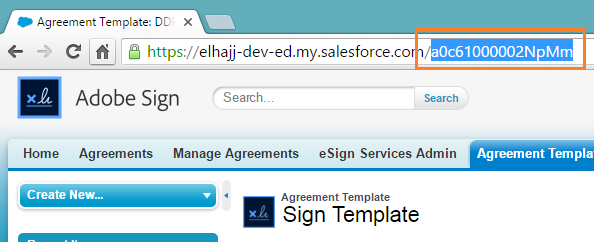 Use an Adobe Sign Agreement Template in a Document Package – Delivery Document Template