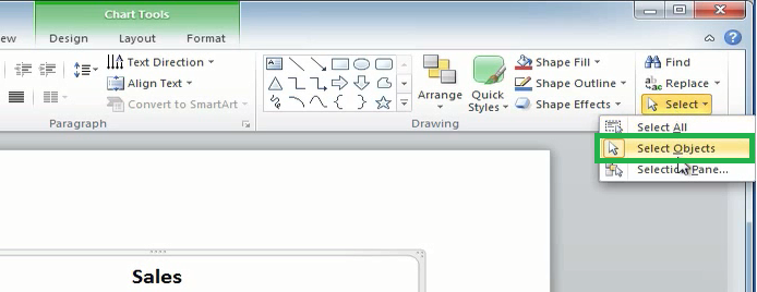 Dynamic charts in Microsoft PowerPoint