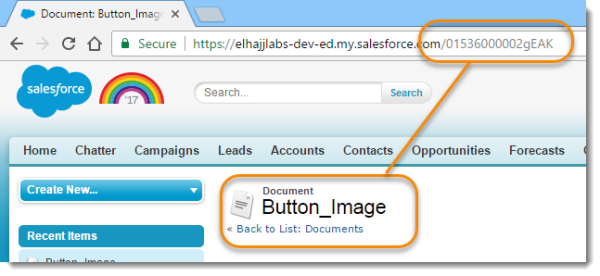 Add dynamic images to output with button parameters